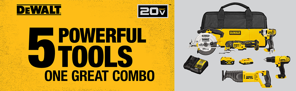 5 power tools one great combo