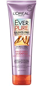 Ever, sulfate free, color treated hair, loreal