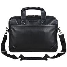 """Designer, Business, Laptop Case, Leather, Bag, Tablet Bag, Laptop Bag, RFID, 15"""" Laptop, Tablet"""