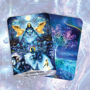 sacred spirit; reading cards; intuition; soul; guidance; oracle cards; inspiration; hidden realms