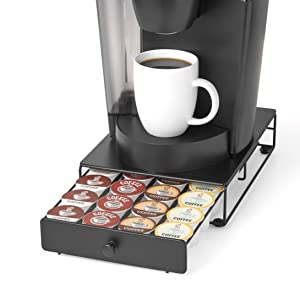 k-cup, keurig, coffee pod, storage, holder