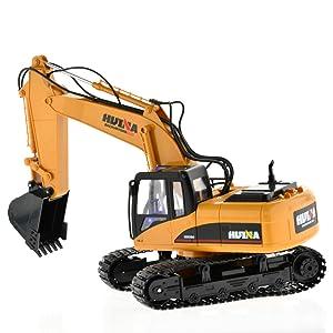 Huina 580 rc Excavator Fullmetal Version 2 The Newest 2018