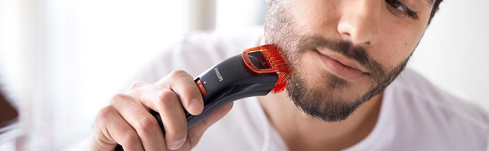 philips series 1000 beard trimmer bt405 13 for cordless use with adjustable length settings. Black Bedroom Furniture Sets. Home Design Ideas