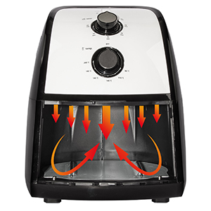 Clatronic FR 3667 H - Freidora sin aceite por aire caliente