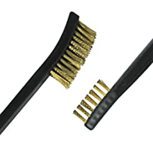 brass brush, double ended