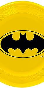 Batman Logo Shield Bruce Wayne Frisbee Beach Toy Fetch Catch Dog Pet