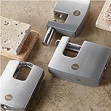 Yale Y221B//52//125//1 Candado de Alta Seguridad Resistente A la Intemperie Lat/ón