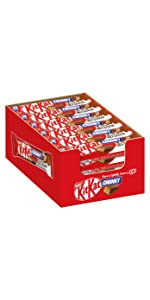 KitKat ChunKy - Der leckere Snack aus Milchschokolade
