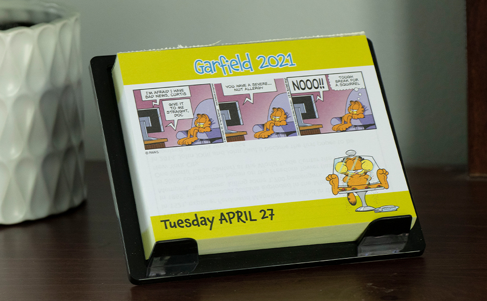 Garfield 2021 Day to Day Calendar: Davis, Jim: 9781524857196