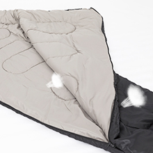 Wantdo mummy sleeping bag Ventilation