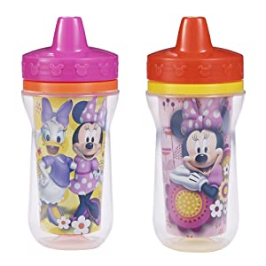 Mickey Mouse 9 oz The First Years Disney Insulated Sippy Cup 2 Ct