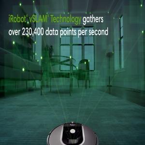 iAdapt, navigation, intelligent sensors, cliff sensors, multi passes, cleaning, smart, Virtual