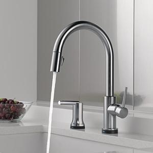 Charming Trinsic Pull Down Kitchen Faucet With Touch2O Technology
