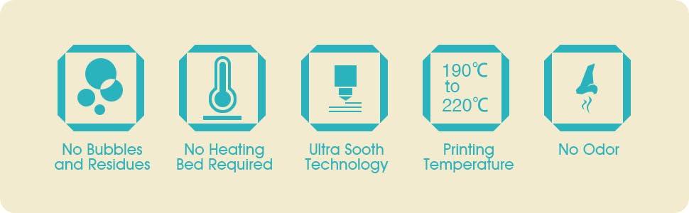 PLA Filament, 3d filament, filament 1.75, pla 1.75, 3d printer filament, Blue PLA,
