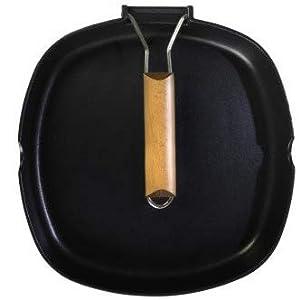 WeCook 10801 Sarten Grill Antiadherente Induccion Vitrocerámica y Fogón, Aluminio, 20 cm, Sin PFOA ni BPA