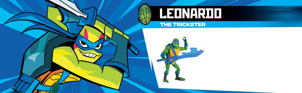 Amazon.com: Figuras de acción de TMNT, Leonardo: Toys & Games
