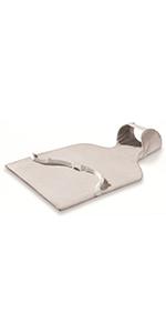 Beurer HK49 - Almohadilla electrónica lumbar/abdomen, tacto ...