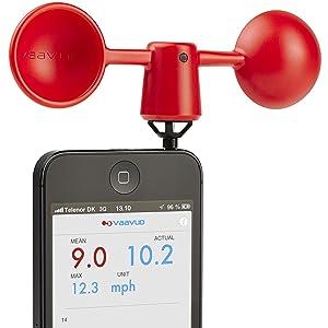 TFA Smartphone Windmesser