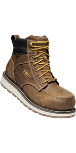 "mens cincinnati 6"" carbon-fiber composite toe safety footwear water-proof work boot"