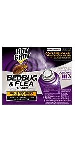 Hot Shot Bed Bug Killer Aerosol · Hot Bed Bedbug & Flea Fogger