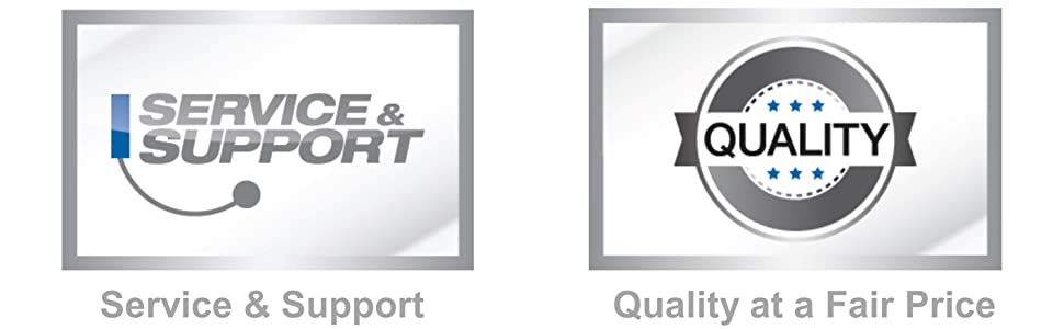 Service and support Quality Fair