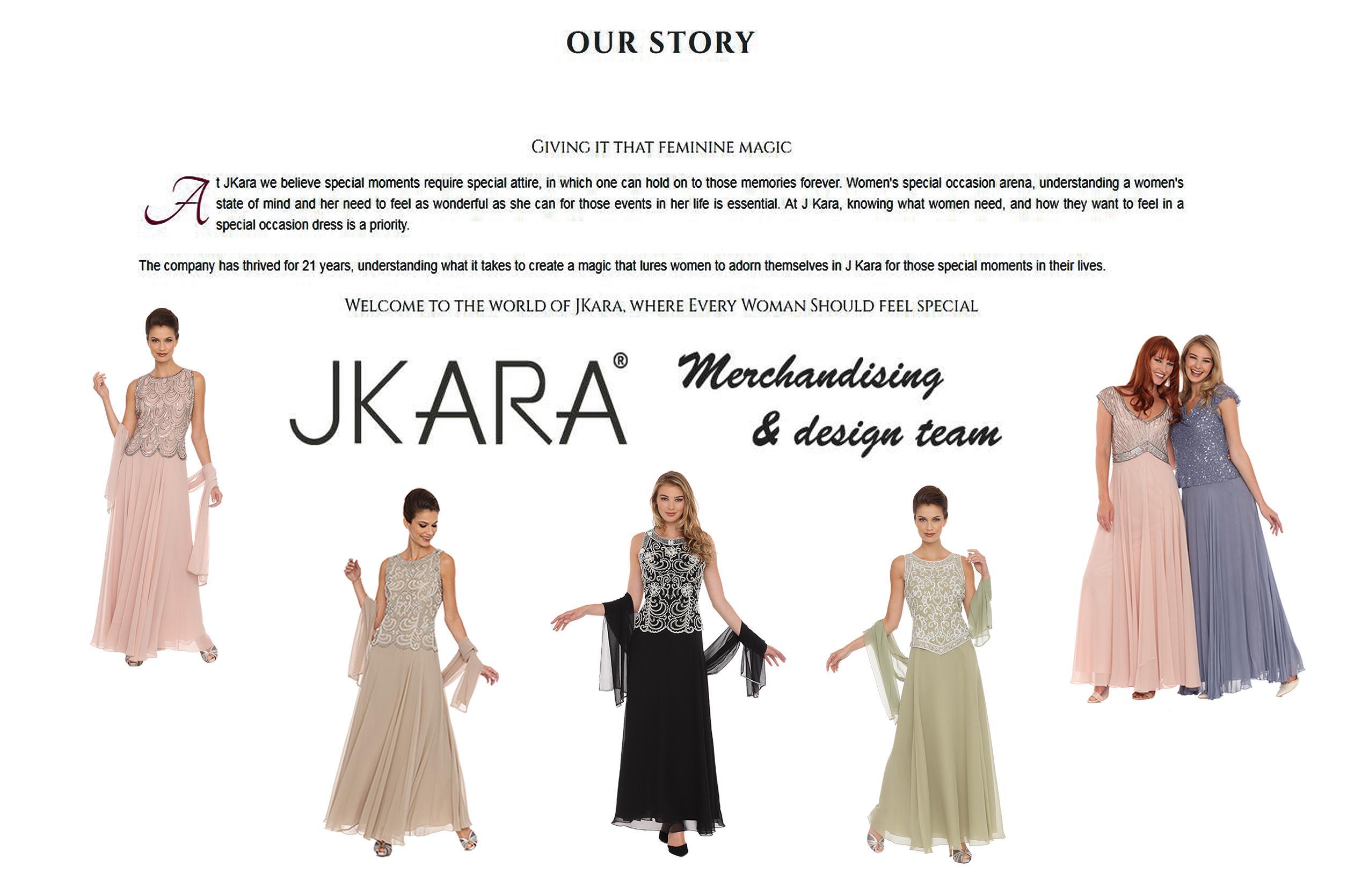 J Kara Women's Petite Long Beaded V Trim