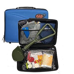 Winter Safety Kit, AAA winter kit, AAA road emergency winter kit, road kit with shovel, aaa car kit