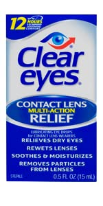 Contact Lens Multi-Action Relief