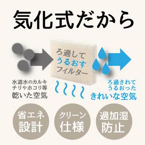 Vornado ボルネード 気化式加湿器 サーキュレーター うるおった空気を拡散 周りの湿度や気温に合わせて加湿 気化した水分 目に見えない 余分な水分を放出しない 過加湿にならない ろ過 省エネ