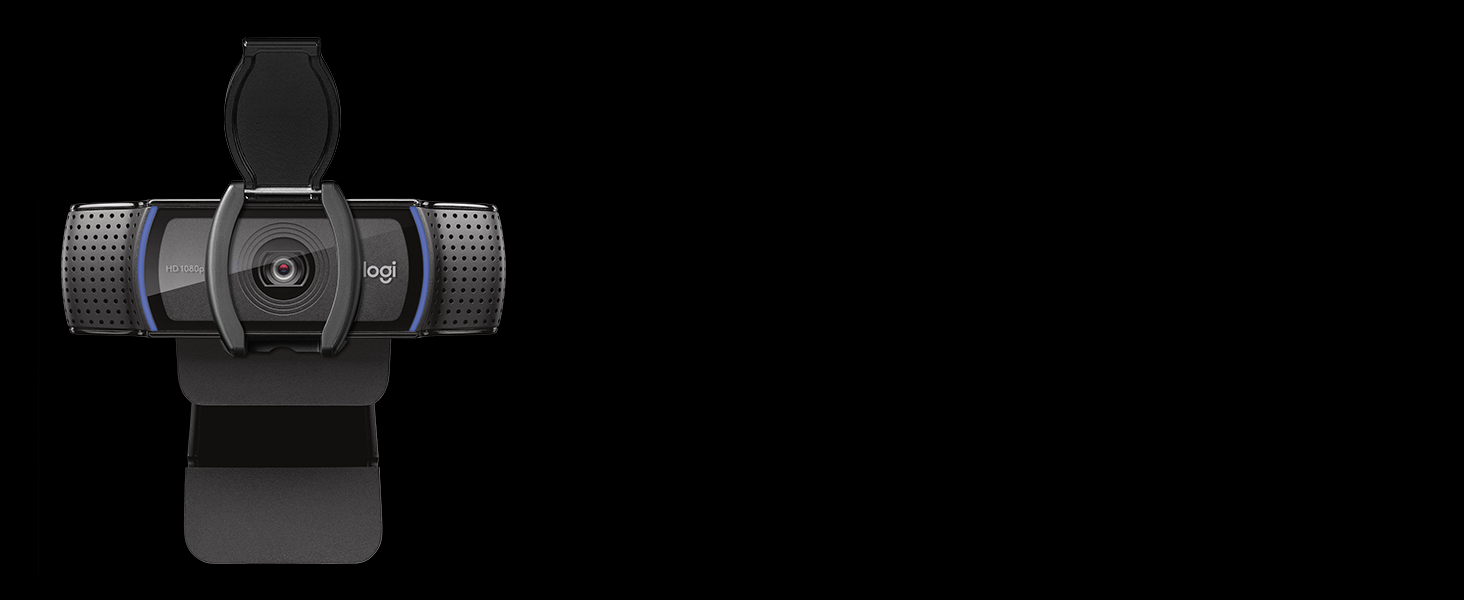 Logitech C920s HD Pro Webcam, Full HD 1080p/30fps, Video-Llamadas ...