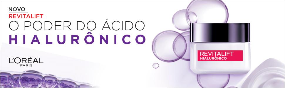 revitalift, hialuronico, poder do acido, acido hialuronico, novo revitalift