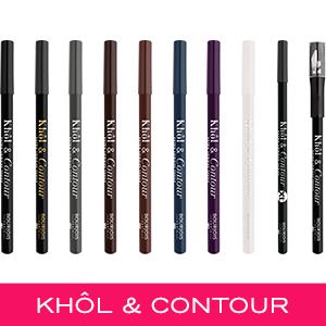 Khol contour; reds; colour; eyeliner; eyeliner; eyeliner; eye pencil; intense colour; easy application