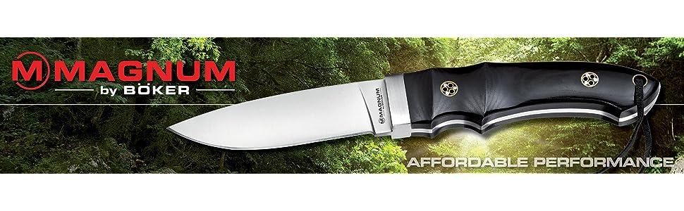 Amazon.com: Boker Magnum 01sc249 30 – 06 Bullet cuchillo con ...