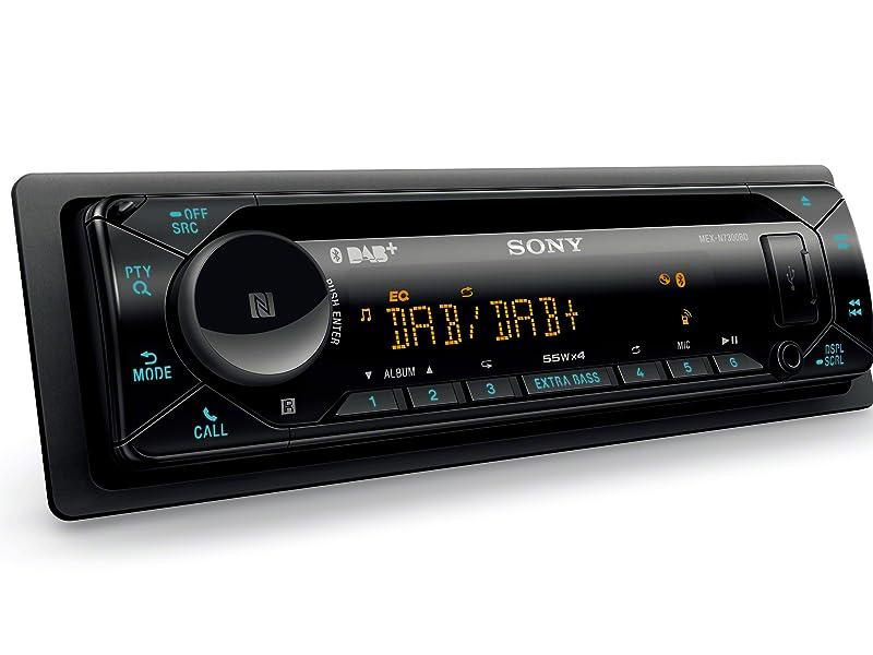 Sony Mex N7300kit Dab Autoradio Mit Cd Dual Bluetooth Usb Und Aux Anschluss Bluetooth Freisprechen 4 X55 Watt 3x Preout Extra Bass Vario Color Elektronik
