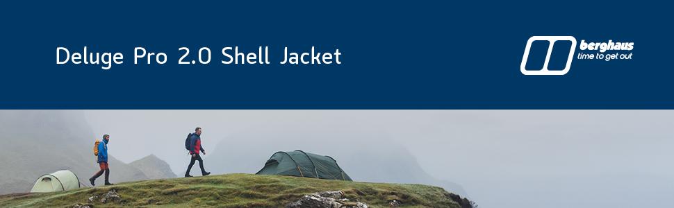 jacket, berghaus, shell