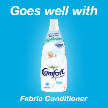 Omo Sensitive Liquid Goes Well With Comfort Pure