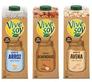 Bebidas Vegetales Vivesoy. Almendras ...