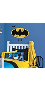 batman logo peel and stick wall decals, peel and stick wall decals