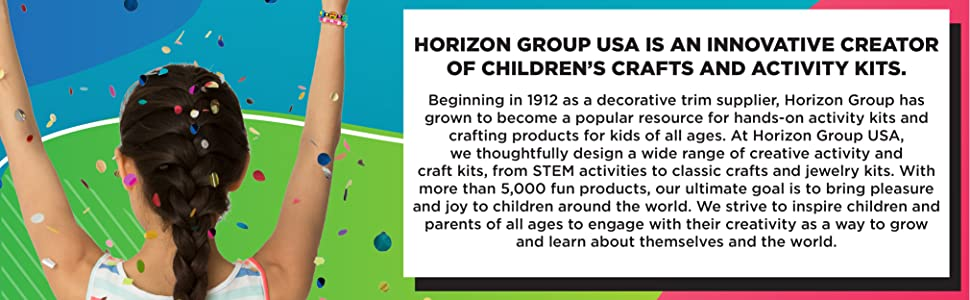 horizon group usa, horizon group, kids activities, arts & crafts, kids crafts, activity kits