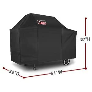 """61/"""" BBQ Grill Cover Heavy Duty Protection For Weber Genesis Gold B C Gas Grills"""