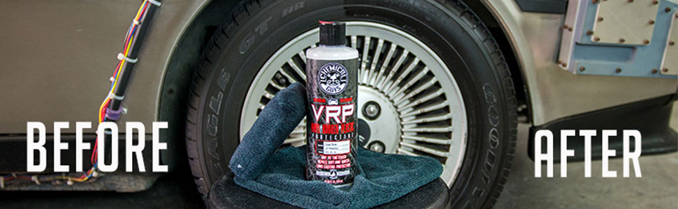 Chemical Guys TVD_107_16 VRP Vinyl, Rubber and Plastic Non-Greasy  Dry-to-the-Touch Long Lasting Super Shine Dressing for Tires, Trim and More  (16 oz)