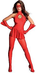 sexy flash costume, women's flash