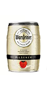 warsteiner premium pilsener 5 liter fass partyfass mit. Black Bedroom Furniture Sets. Home Design Ideas