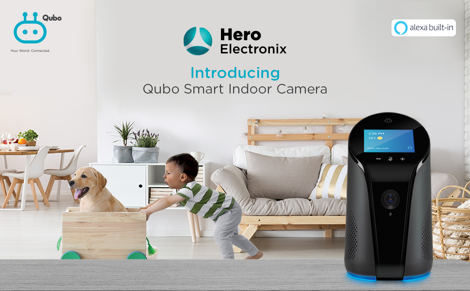Alexa Built-in;Baby cry;Bluetooth speaker; AI; Home Hub; Qualcomm; Night Vision; Full HD Streaming