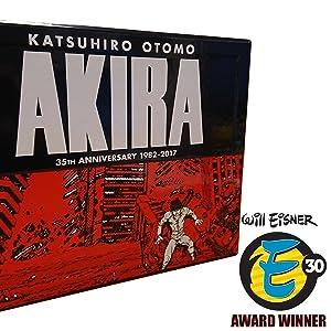 akira eisner award 35th anniversary manga anime graphic novel comics