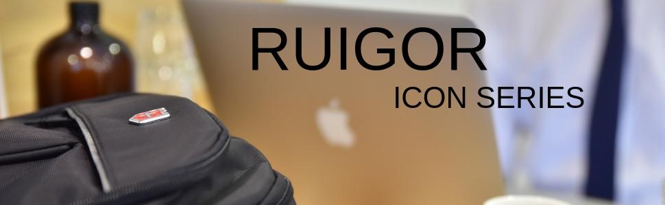 RUIGOR, Laptop backpack, travel backpack, tsa, college, school, ogio, swissgear, swiss,