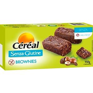 brownies senza glutine, brownies