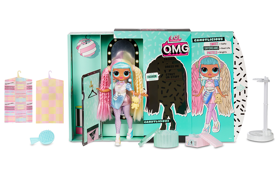 LOL Surprise OMG Candylicious Series 2 Fashion Doll