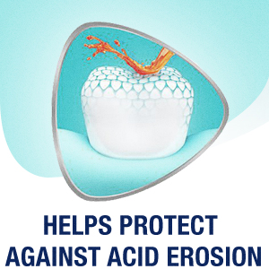 Helps Protect Against Acid Erosion