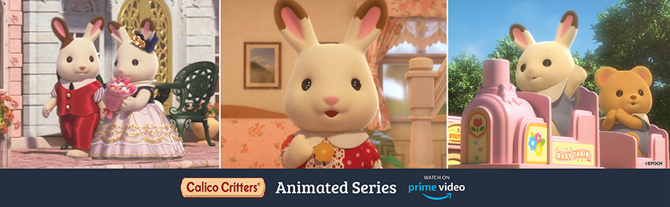 collectible, small doll, dollhouse, critters, figures, sylvanian families, lil woodzeez, prime video